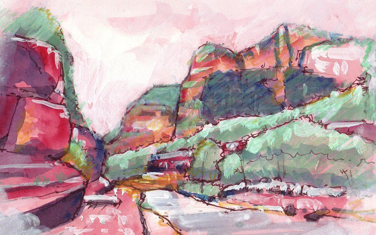 Slide Rock Canyon